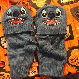 Disney stitch gloves